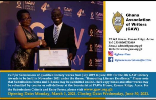 5th GAW Literary Awards