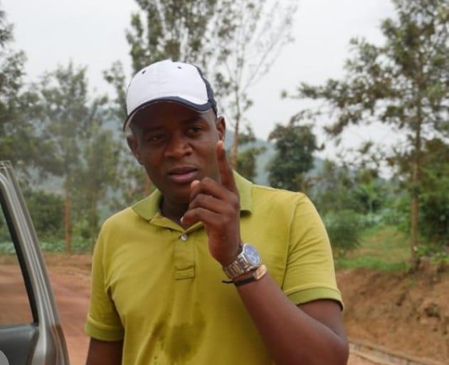 Rwandan journalist Dieudonné Niyonsenga