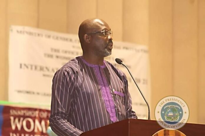 Gender Ministry commends President Weah