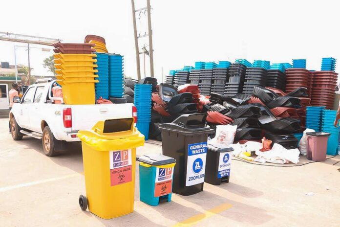 Zoompak ready for medical waste disposal