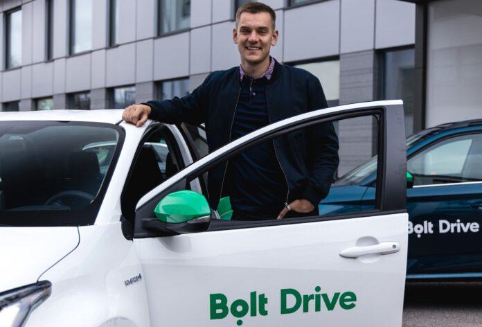 Bolt CEO Markus Villig Bolt Drive car