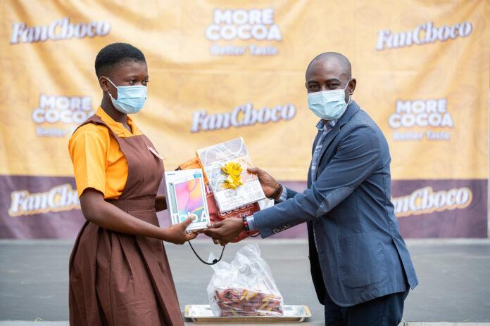 Fanmilk PLC fetes winners