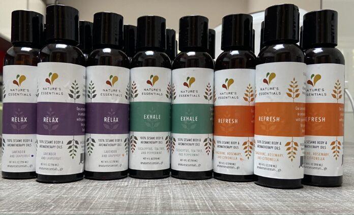 Nature's Essentials using organic oils