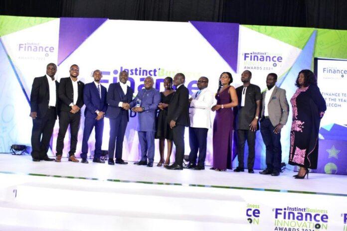 MTN Ghana Finance Team adjudged Finance Team of Year