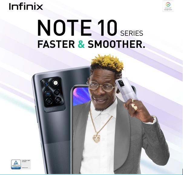 Infinix Launches Award-Winning NOTE 10