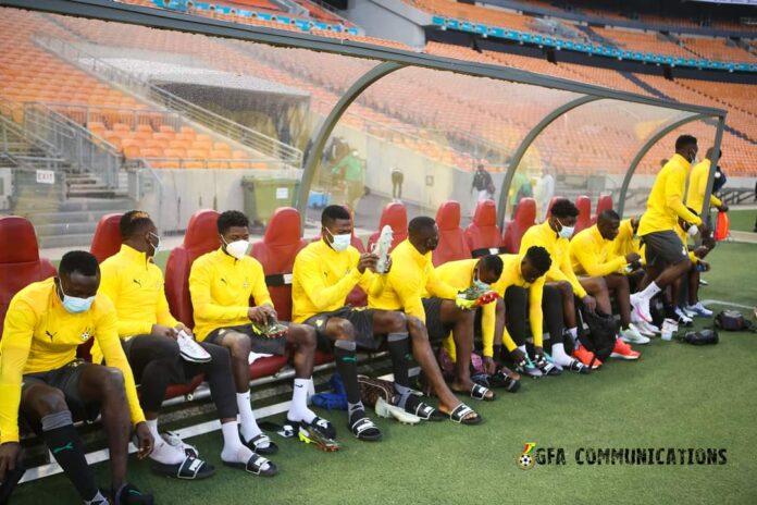 training ahead of Ivory Coast