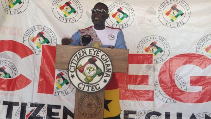 CITEG Ghana President renders apology