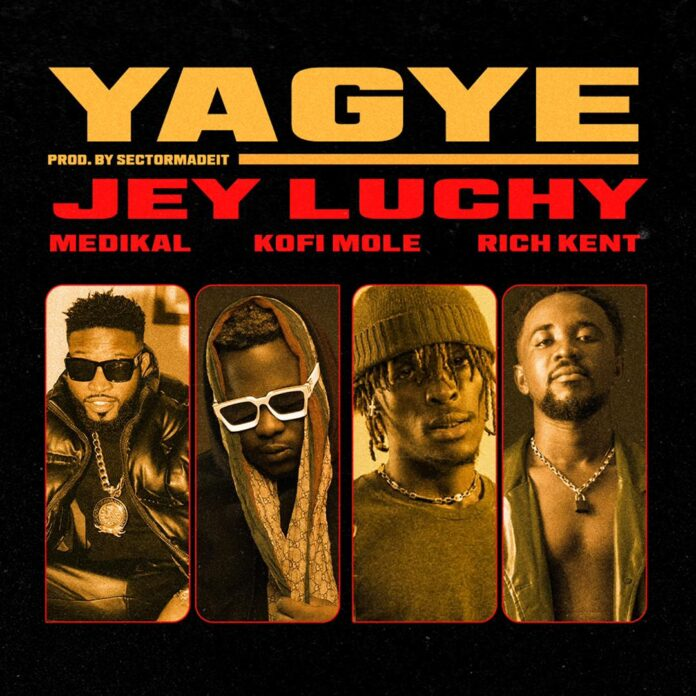 Jey Luchy collects with 'Yagye' featuring Medikal